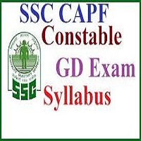 SSC Constable (GD) Syllabus 2019 - 2020 Check New Exam Pattern