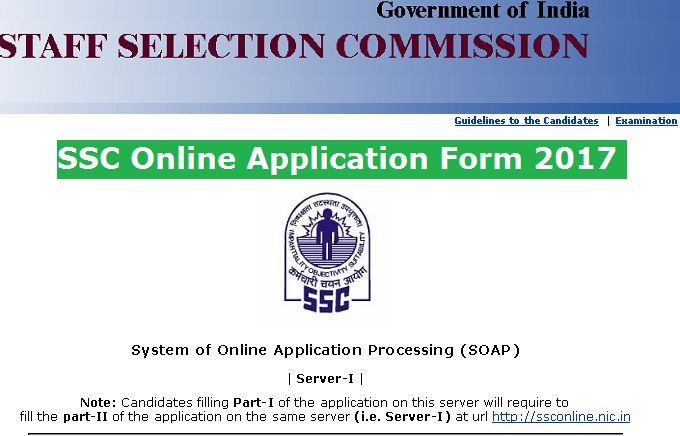 Ssc online registration part 1 last date in Perth