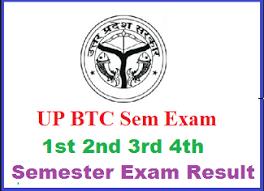 UP BTC 2015 2nd Semester Exam Result 2018 - 2019 Declared