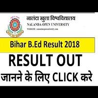 Bihar B Ed CET Result 2019 Bihar B Ed Exam Result